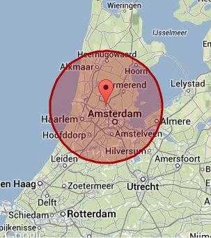 werkgebied Zaandam